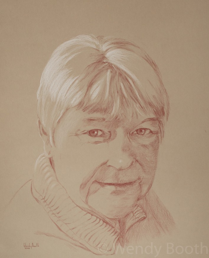 portrait artist commission mother