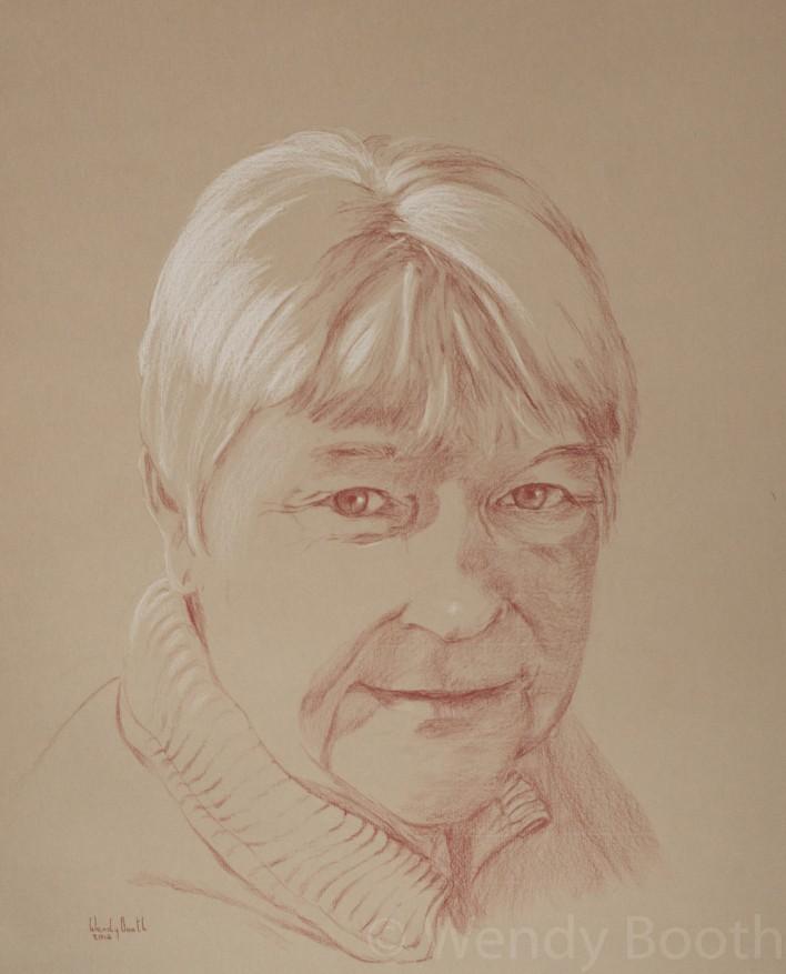 portrait artist commission mother